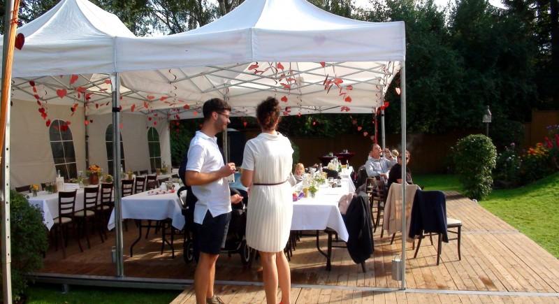 Hochzeits-DJ, Gartenparty, Gartenhochzeit, Hochzeitzuhause Leverkusen