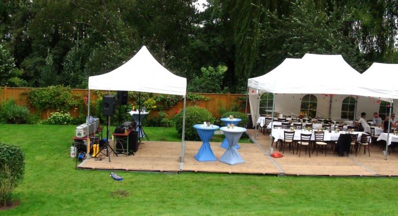 Hochzeits-DJ, Gartenparty, Gartenhochzeit, Hochzeitzuhause Düsseldorf