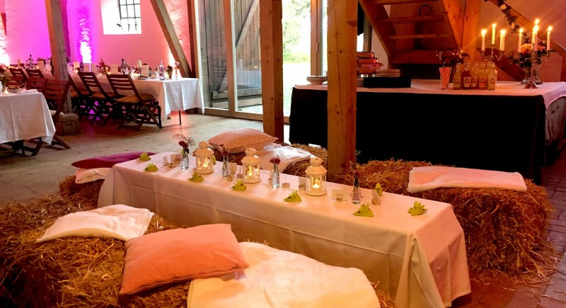 Landhochzeit, Hochzeitsscheunen, Bauernhöfe, Partyscheune in NRW und Ruhrgebiet