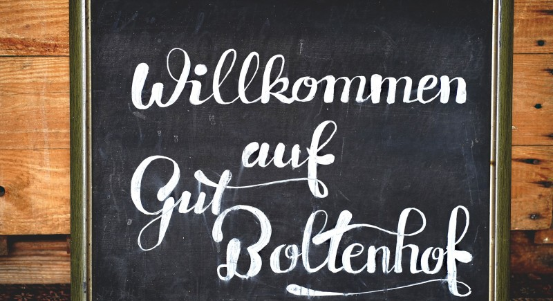 Gut Boltenhof Hochzeit Scheune Brandenburg