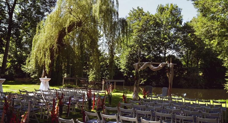 Hochzeit im Romantik Hotel Hof zur Linde. Event- & Hochzeits-DJ Münster