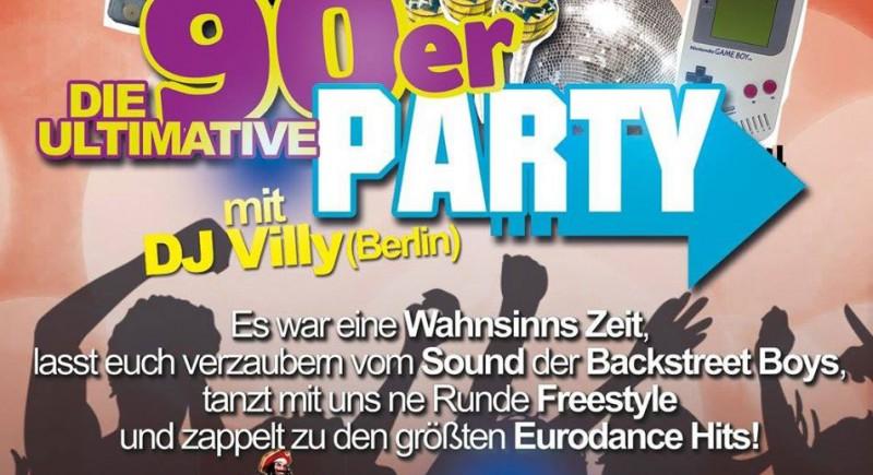 DJ 90er Party Düsseldorf Bochum