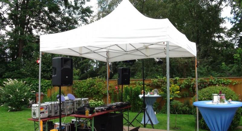 Hochzeits-DJ, Gartenparty, Gartenhochzeit, Hochzeitzuhause Münster