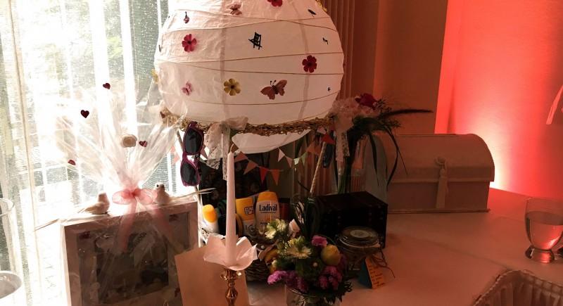 Geschenketisch Hochzeit NRW