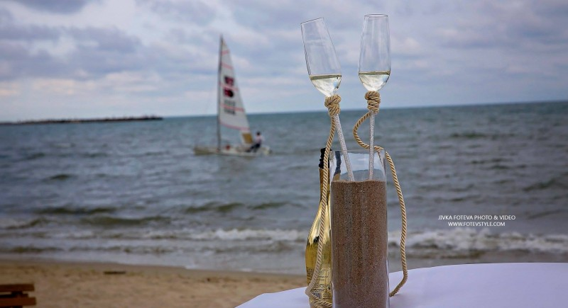 Strand Hochzeit Niederlande