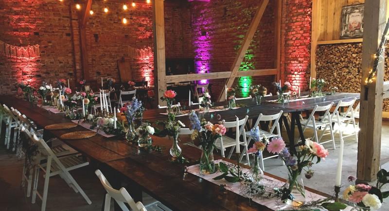 Landhochzeit Vintage Weddings Hochzeitsscheune Hochzeits-DJ-NRW