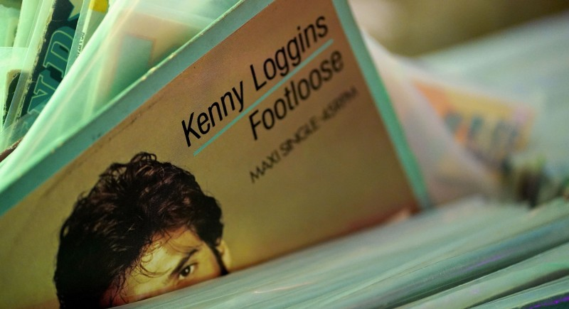 Kenny Loggins - Footloose Maxi Vinyl Schallplatte